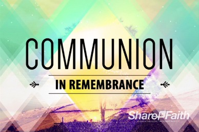 Called by Name Church Communion Video Loop