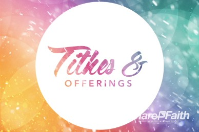 Easter Celebrate With Us Religious Tithes and Offerings Video