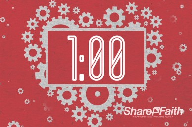 Love Works Church One Minute Timer