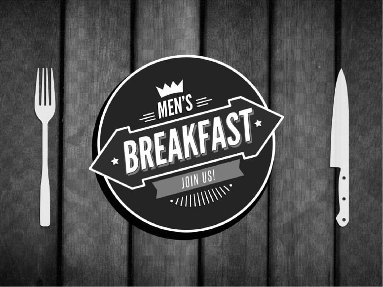 Men's Breakfast Church PowerPoint