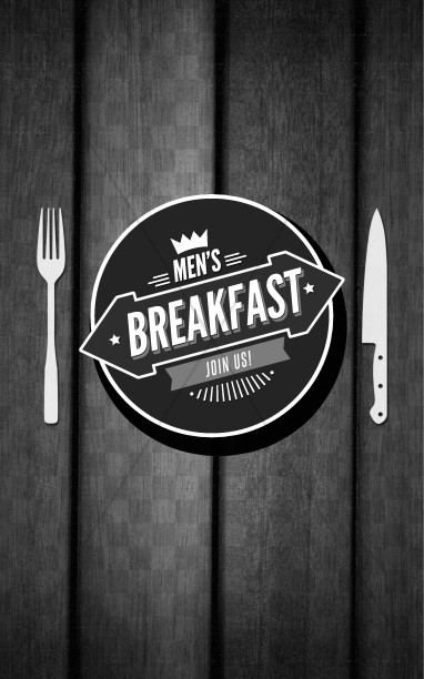 Men's Breakfast Church Bulletin