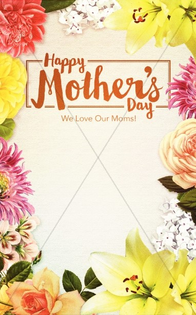 Happy Mother's Day Love Christian Bulletin
