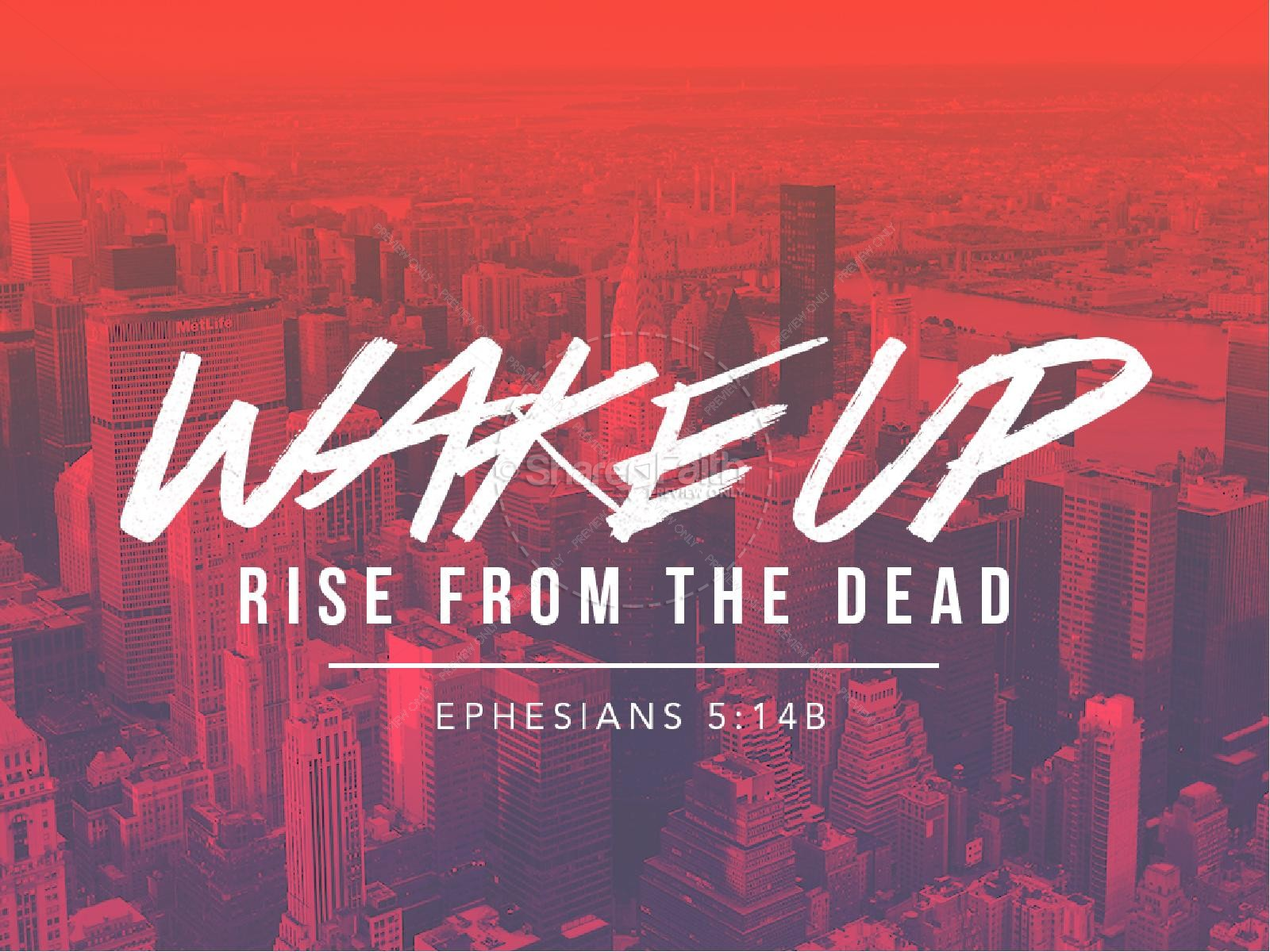 Wake Up Church PowerPoint
