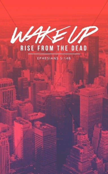 Wake Up Church Bulletin