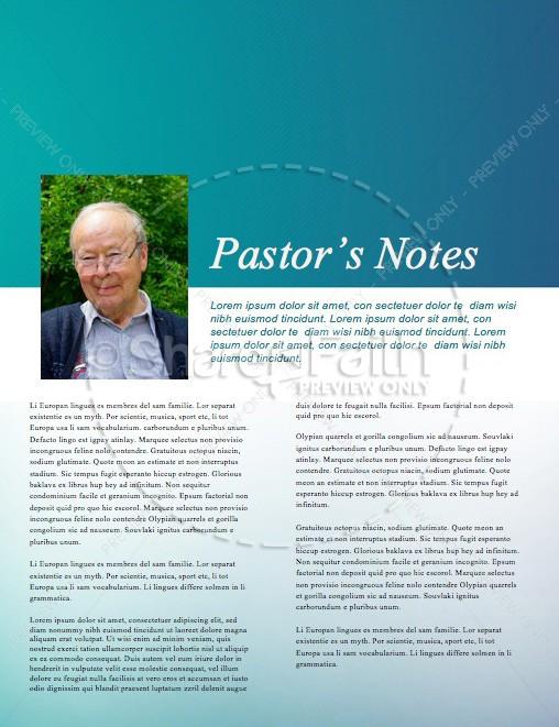 Springtime Church Newsletter