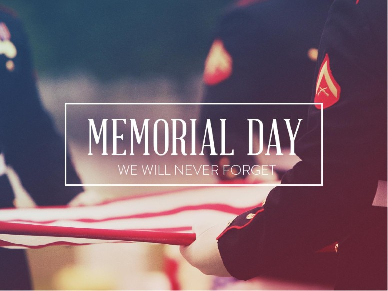 Memorial Day Never Forget Church PowerPoint