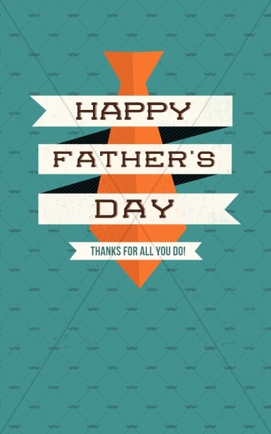 Father's Day Thanks Christian Bulletin