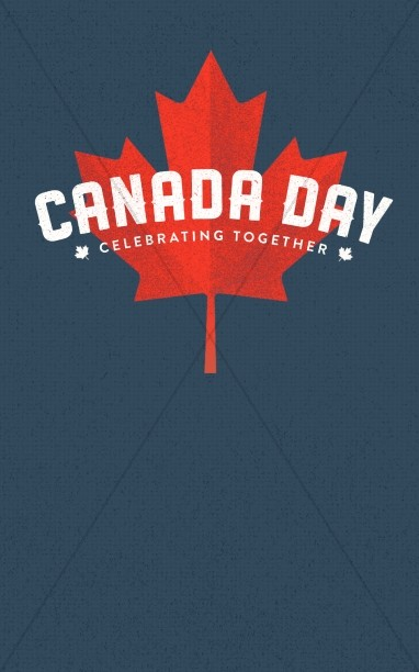 Canada Day Church Bulletin