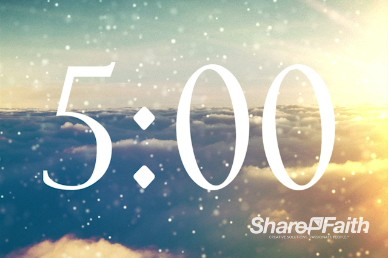Sparkle Cloud 5 Minute Church Video Countdown