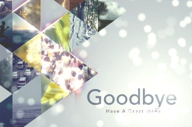 World Church Goodbye Motion Video Loop