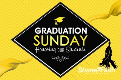 Graduation Sunday Honoring Church Grad Welcome Video Loop