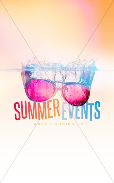 Summer Events Christian Bulletin