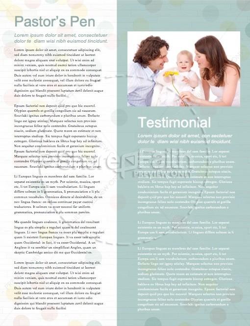 Baby Dedication Ministry Newsletter