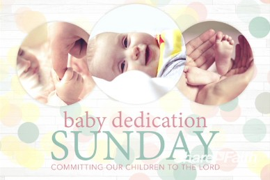 Baby Dedication Ministry Welcome Video Loop