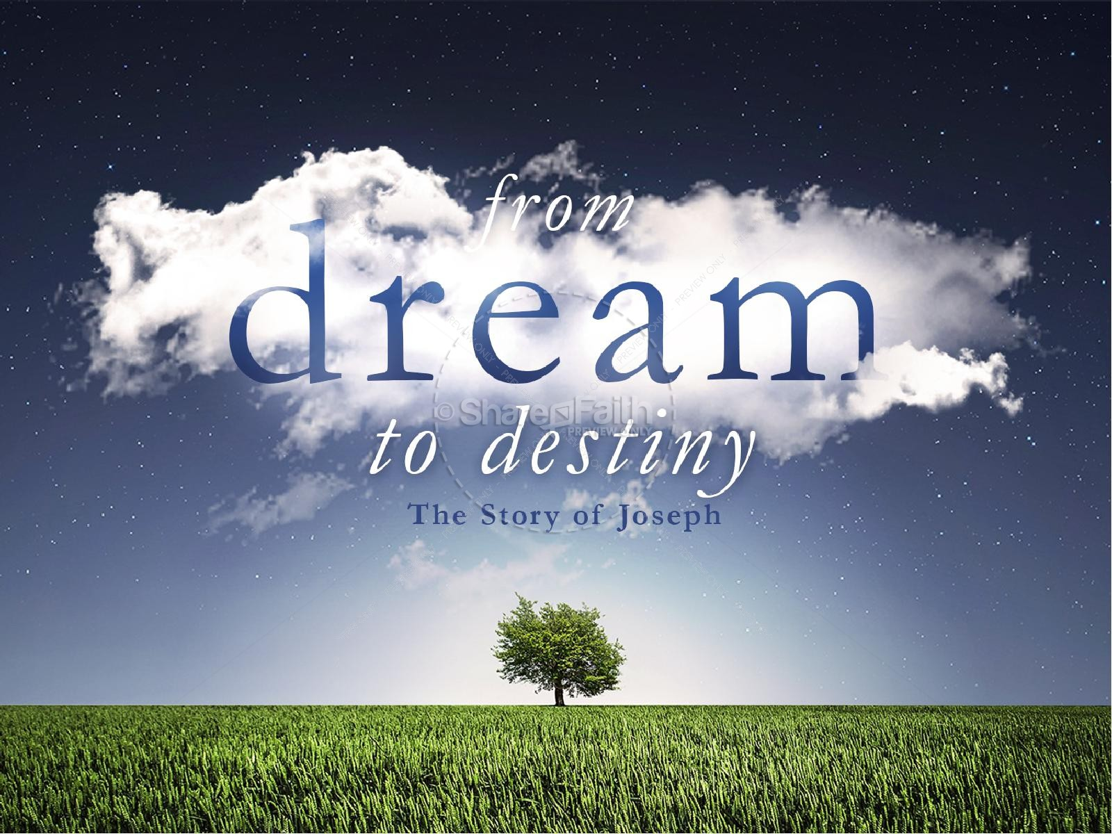 From Dream to Destiny Christian PowerPoint
