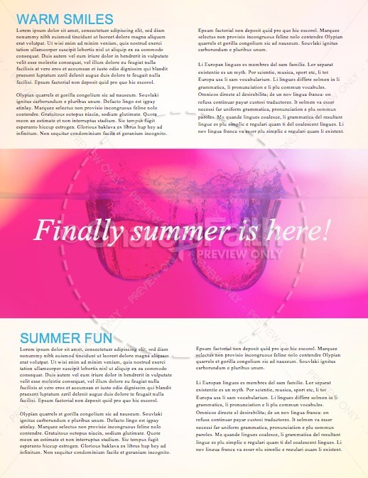 Summer Events Christian Newsletter