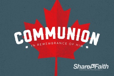 Canada Day Church Communion Video