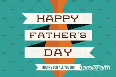 Father's Day Thanks Christian Introduction Video