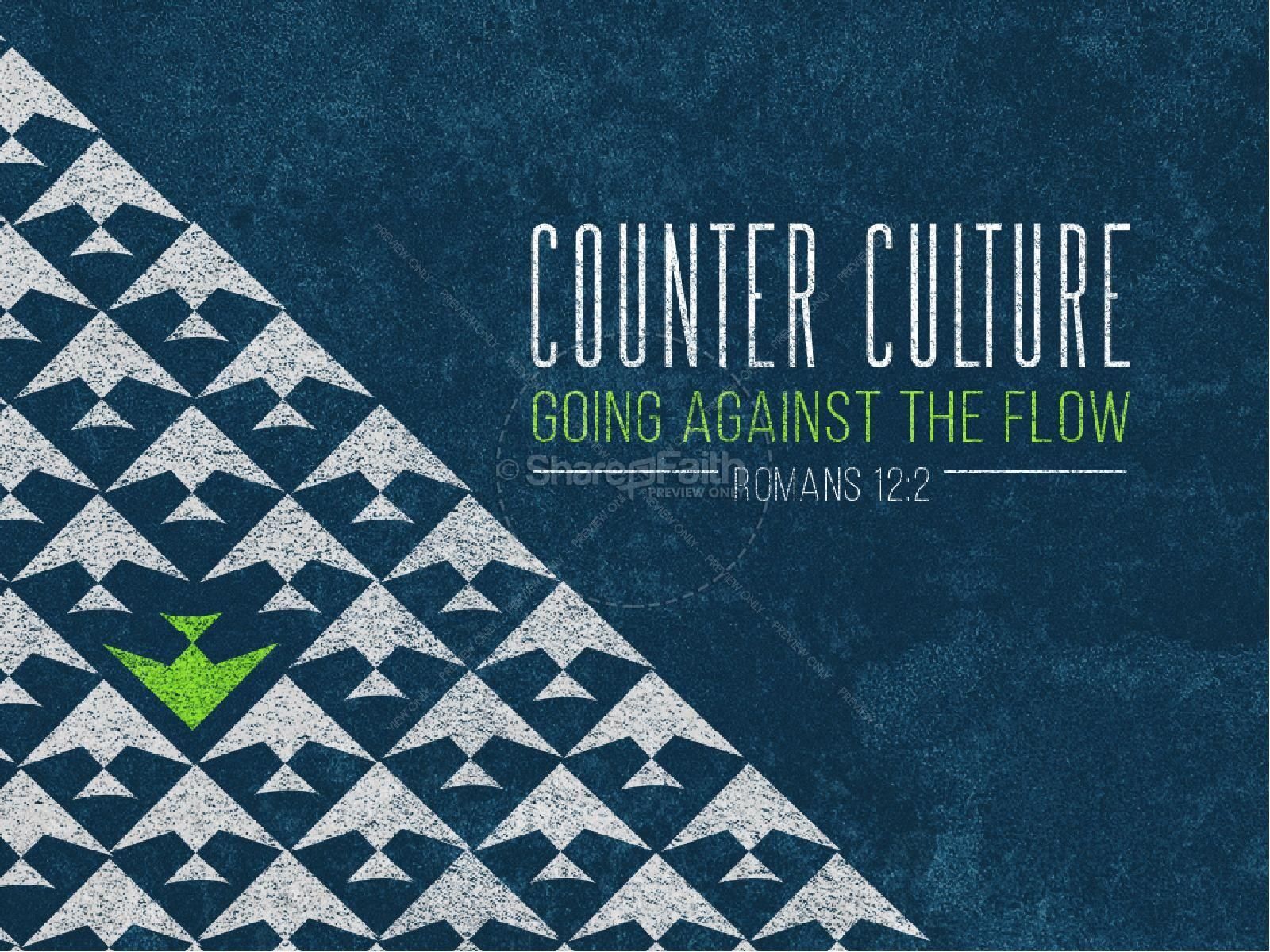 Counter Culture Christian PowerPoint
