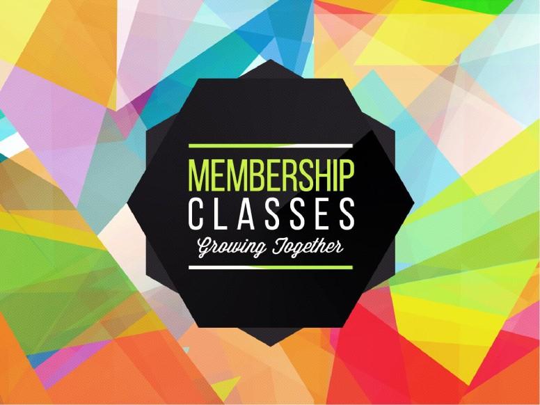 Membership Classes Church PowerPoint
