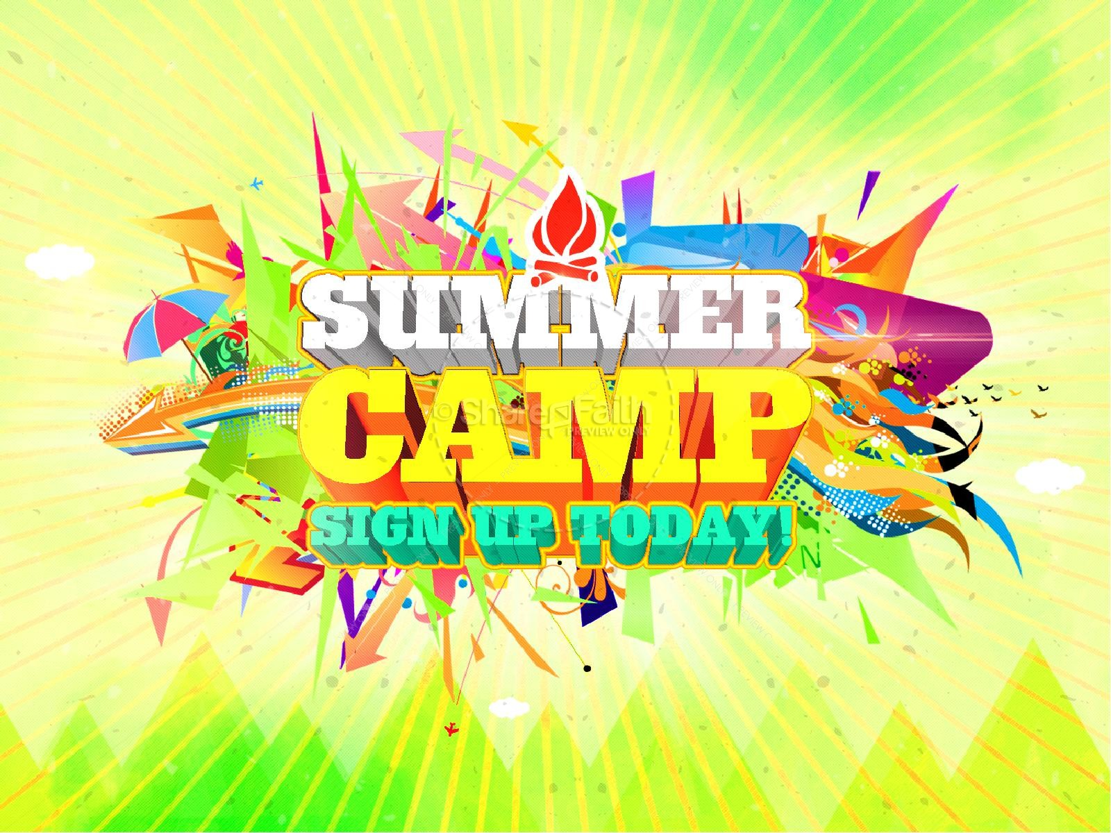Summer Camp Ministry PowerPoint