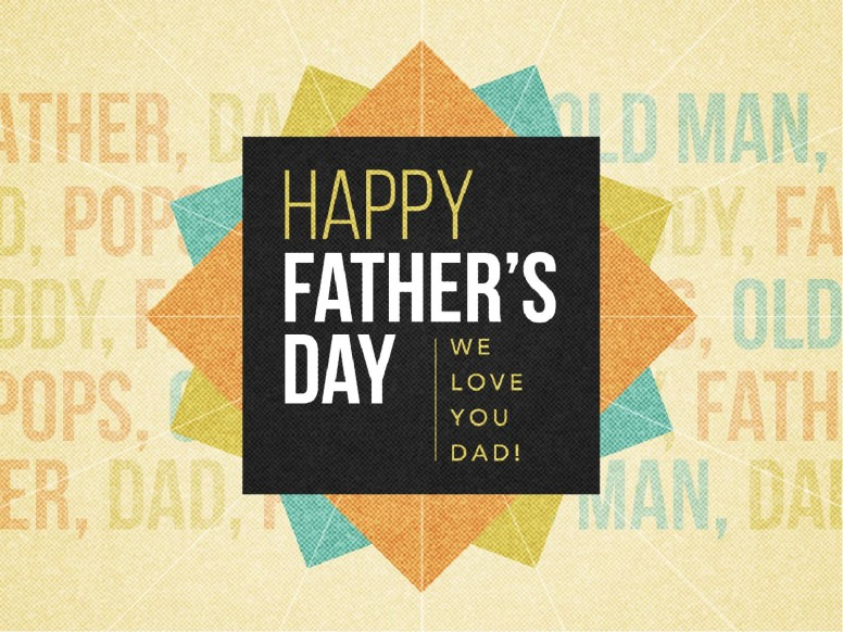 Happy Father's Day Love Church PowerPoint