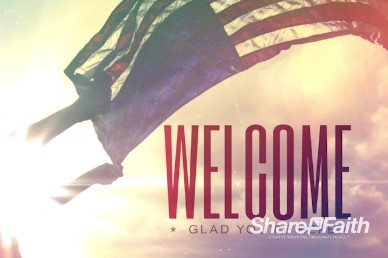 Independence Day Christian Welcome Motion Video