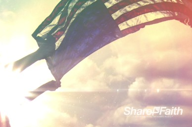 Independence Day Christian Media Worship Video Background