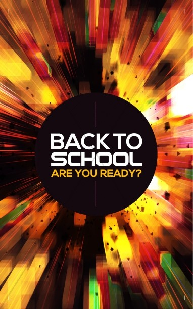 Back to School Power Christian Bulletin