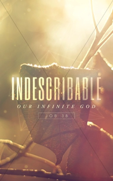 Indescribable Christian Bulletin