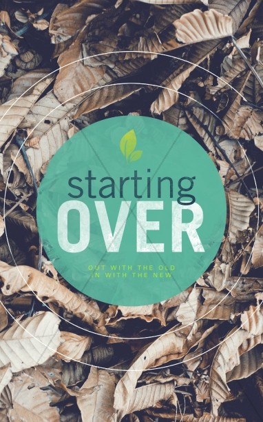 Starting Over Religious Bulletin