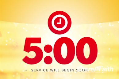 You Are Welcome Here Ministry Five Minute Countdown Timer