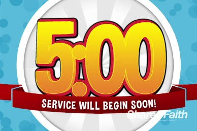 VBS Media Christian Five Minute Countdown Timer