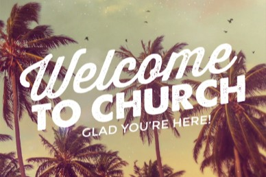 Summer Baptism Ministry Welcome Video Background