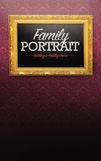 Family Portrait Church Bulletin