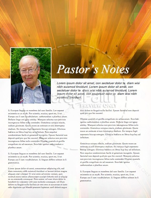 Back to School Power Christian Newsletter