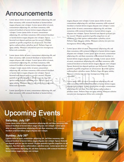 Back to School Power Christian Newsletter | page 4