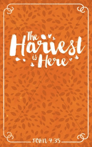 The Harvest is Here Christian Bulletin