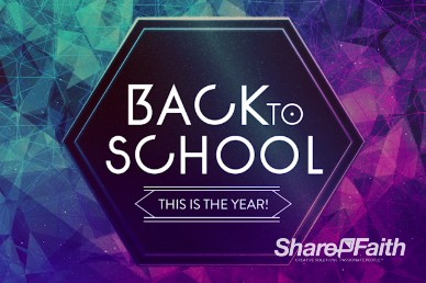 Back to School This is the Year Ministry Intro Video