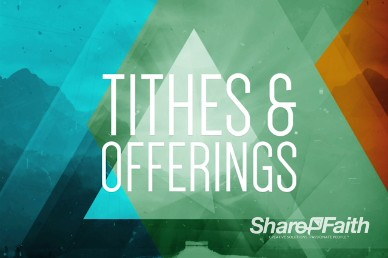 Moving Mountains Ministry Tithes and Offerings Motion Video