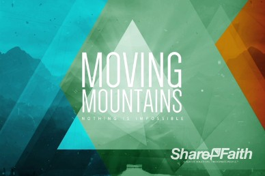 Moving Mountains Ministry Title Video Loop