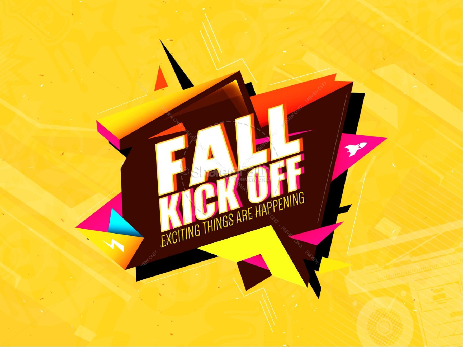 Fall Kickoff Christian PowerPoint