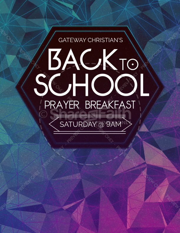 Back to School This is the Year Ministry Flyer
