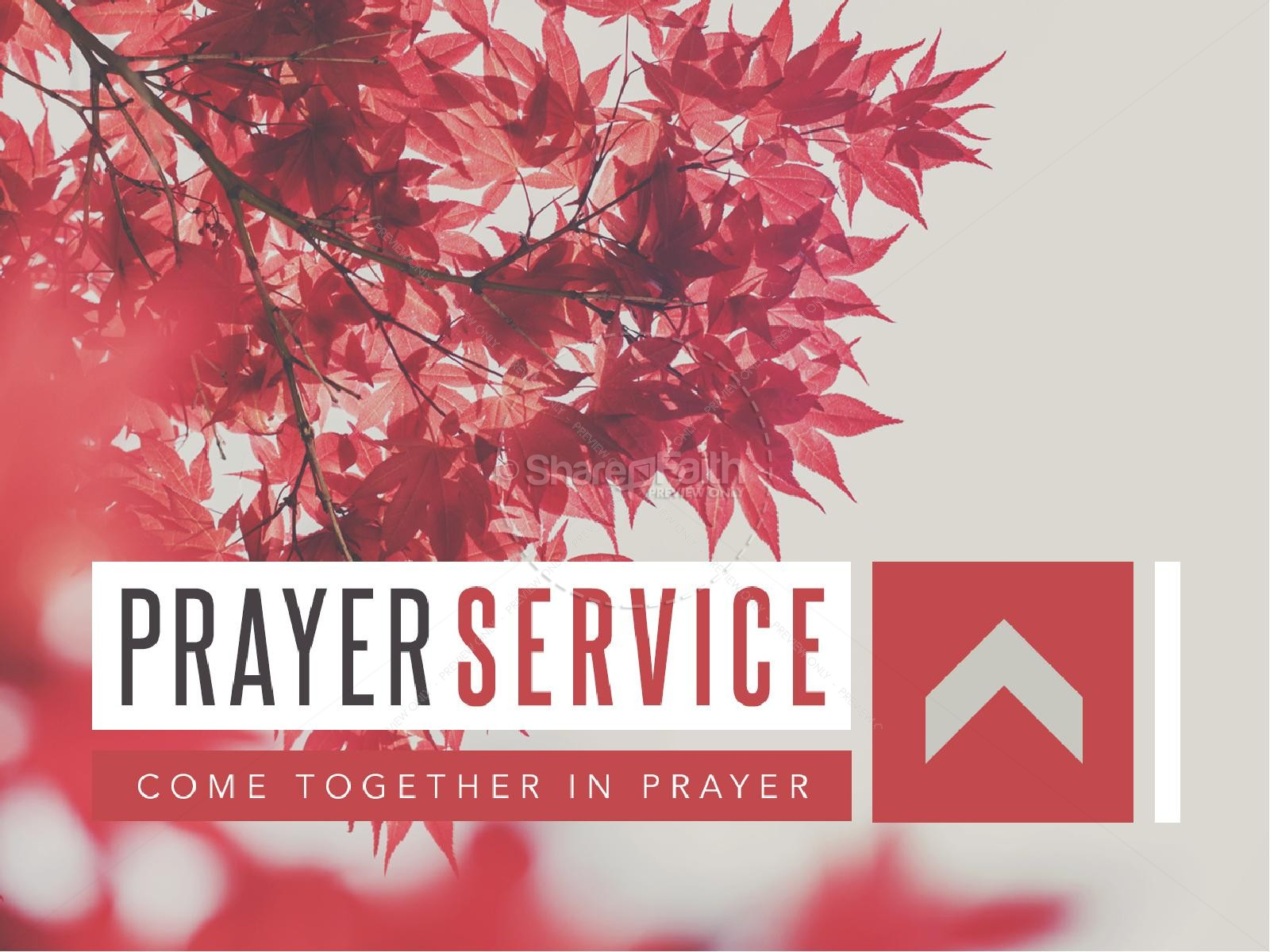 Prayer Service Ministry Powerpoint
