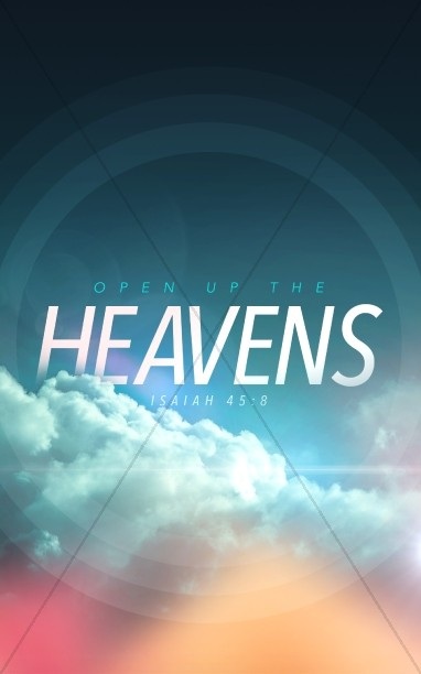Open Up The Heavens Ministry Bulletin