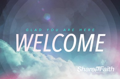 Open Up The Heavens Ministry Welcome Video Loop
