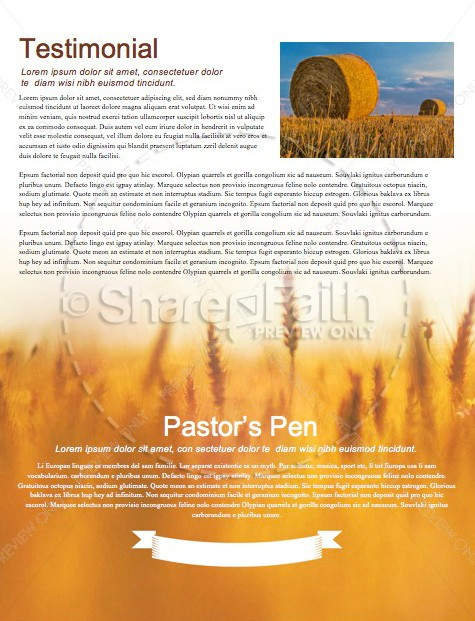 Bless the Lord Christian Newsletter | page 3