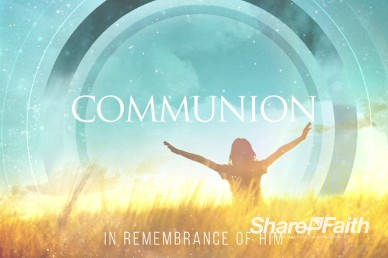 We Give You Thanks Christian Communion Video Background