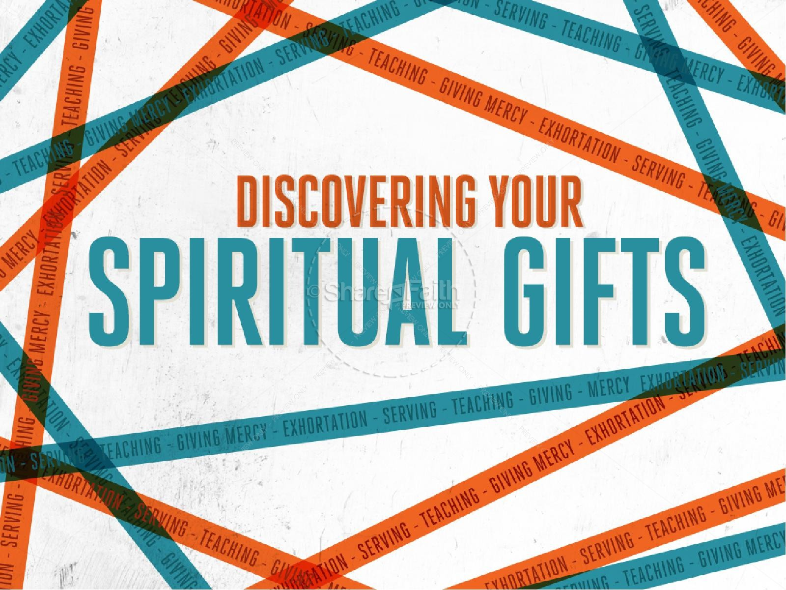 Discovering Your Spiritual Gifts Christian PowerPoint