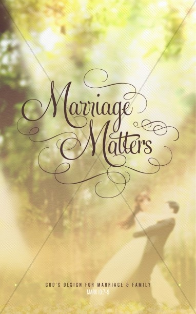 Marriage Matters Religious Bulletin